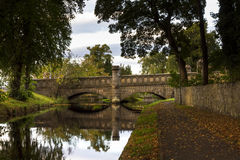 The Castle Bridge, Forres. Stock Photography