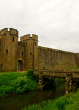 Castle bridge gate Royalty Free Stock Photography