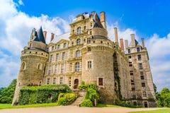 Castle Brissac στην κοιλάδα της Loire στη Γαλλία Στοκ Εικόνα