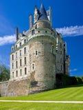 Castle of Brissac-Quince. In Pays-de-la-Loire, France Stock Images