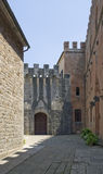 Castle of Brolio Royalty Free Stock Photos