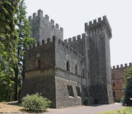 Castle of Brolio Stock Images