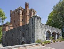 Castle of Brolio Stock Image