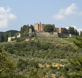 Castle of Brolio in Chianti Stock Photography