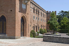 Castle of Brolio Royalty Free Stock Photo