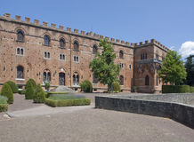 Castle of Brolio Royalty Free Stock Images