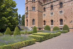 Castle of Brolio Stock Photos