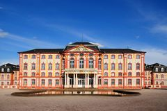 Castle Bruchsal Stock Images