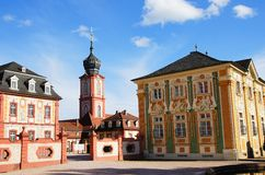 Castle Bruchsal Royalty Free Stock Photo