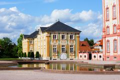 Castle Bruchsal Royalty Free Stock Photography
