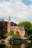 Castle in Bruges Belgium Stock Photo
