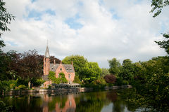 Castle in Bruges Belgium Royalty Free Stock Photo