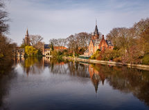 Castle of Bruges Belgium Royalty Free Stock Photo