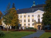 Castle Bruntal. In Czech Republic royalty free stock photography