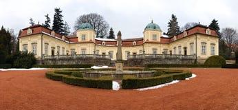 Castle - Buchlovice Stock Image