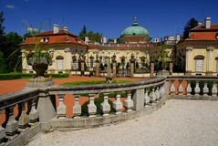 Castle Buchlovice. Old Castle Buchlovice in Czech Republic Stock Photo