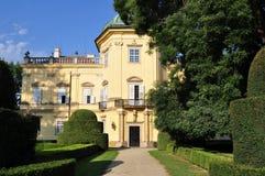 Castle Buchlovice in Czech republic Royalty Free Stock Photo