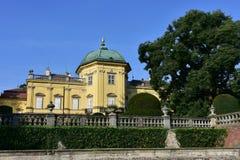 Castle Buchlovice,Czech republic Royalty Free Stock Image