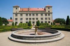 Castle Bucovice Stock Photos