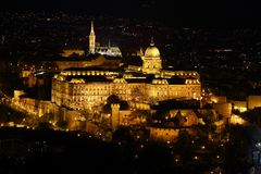 Castle of Buda Stock Photography