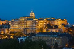 Castle of Buda. The Castle of Buda in Hungary royalty free stock photography
