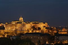 Castle of Buda royalty free stock photography