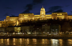 The Castle of Buda in Hungary. The Castle of Buda in Budapest, Hungary Royalty Free Stock Images