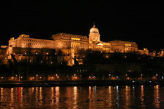 Castle in Budapest Stock Photos