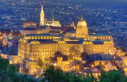 Castle of Budapest Stock Image