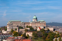 Castle in Budapest, Hungary Stock Photo