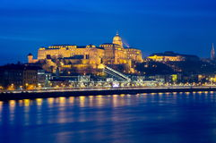 Castle of Budapest Royalty Free Stock Image