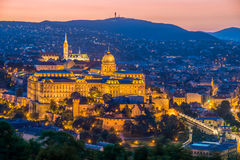 Castle of Budapest Royalty Free Stock Images