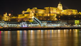 Castle in Budapest, Hungary Royalty Free Stock Images