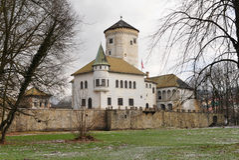 Castle of Budatin,Zilina,Slovakia republic royalty free stock photo
