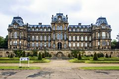 Bowes Museum, Barnard Castle, Durham, England. A castle built in French style with a 9 ha garden specially built to accommodate the art collection of John and