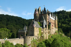 Castle Burg Eltz Stock Photos