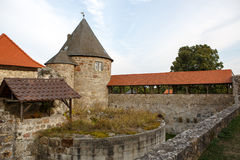 Castle Burg Herzberg, Germany, Hessen. Stock Image