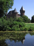 Castle Burg Linn. Castle at Burg Linn near Krefeld, Germany Stock Photography