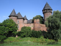 Castle Burg Linn. Burg Linn near Krefeld, Germany Royalty Free Stock Images