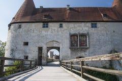 Castle Burghausen in Germany Stock Image