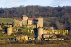 Castle in Burgundy Royalty Free Stock Image