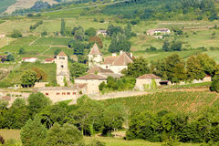 Castle in Burgundy Stock Photos