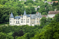 Castle in Burgundy Royalty Free Stock Photos