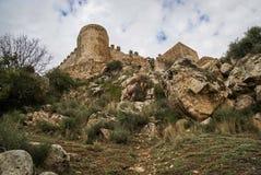 Castle at Burqillos del Serro, Estremadura, Spain Royalty Free Stock Image