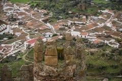 Castle at Burqillos del Serro, Estremadura, Spain Stock Image