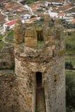 Castle at Burqillos del Serro, Estremadura, Spain Stock Images