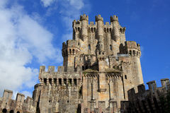 Castle of Butron, Spain Royalty Free Stock Photography