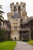 Castle of Butron, Spain Stock Images
