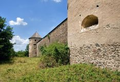 Castle Bzovik , Slovakia Royalty Free Stock Photography