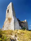The Castle of Cachtice - Ruined Donjon Stock Photos